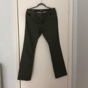 "Olive ""Saylor Fit"" VV Pants - size 12"